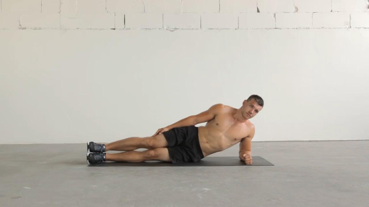 Side Plank Left Side